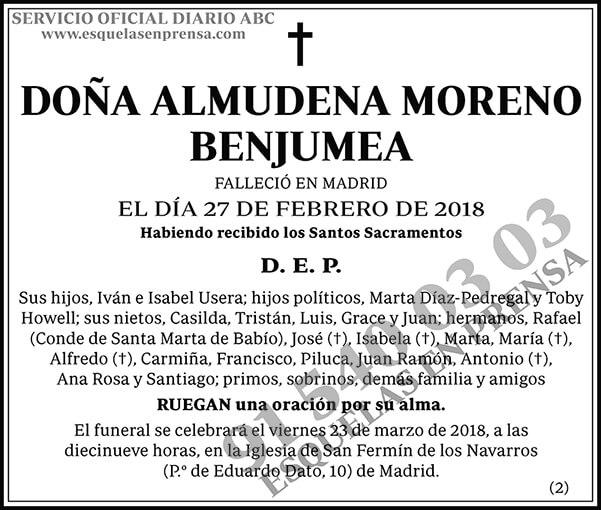 Almudena Moreno Benjumea
